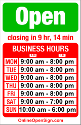 Business hours for Honda of Seattle