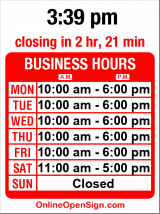 Business hours for Clean Cut Barber Shop