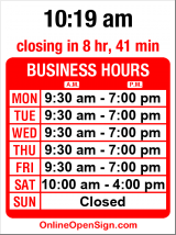 Business hours for Viajes Azteca