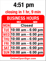 Business hours for Kusina Filipina