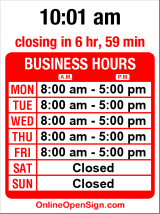 Business hours for Accucraft Collision Center