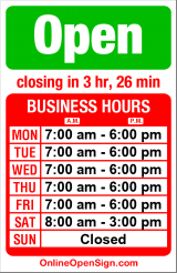 Business hours for Elliott Bay Animal Hospital