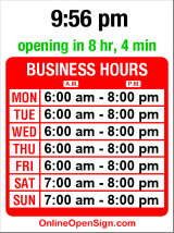 Business hours for Caffe Vita Roasting Co