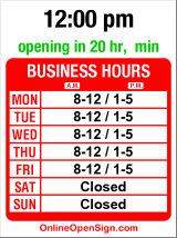 Business hours for Boilermakers Local 104