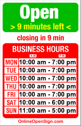 Business hours for Capitol Music Center