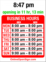 Business hours for Union Coin Laundry