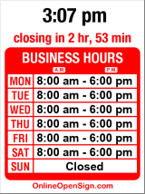 Business hours for Your Family Auto Repair Service