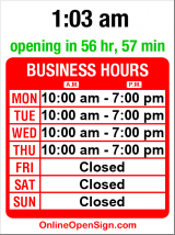 Business hours for Seattle Young People's Project