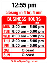 Business hours for Visions Espresso Service