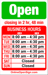 Business hours for Southern Alaska Forwarding