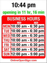 Business hours for Animal Talk