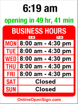 Business hours for Puget Sound Industry Svcs
