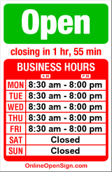 Business hours for UPS Customer Center