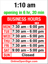 Business hours for Crosscut Hardwoods
