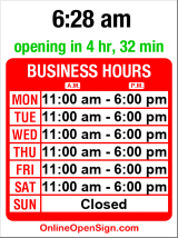 Business hours for Raumplus
