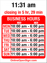 Business hours for Scandia Jewelers