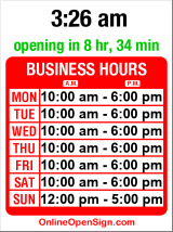 Business hours for Roche Bobois
