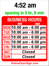 Business hours for Seattle Neighborhood Service