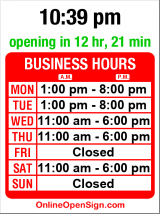 Business hours for Delridge Branch Library