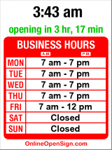 Business hours for Sound Physical Therapy