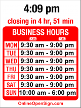 Business hours for Ravenna Gardens