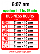 Business hours for Jamba Juice