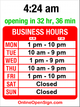 Business hours for Jefferson Community Cntr