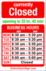 Business hours for John Davis Allstate