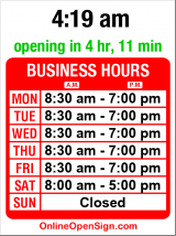 Business hours for Magnolia Village Barber Shop