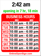Business hours for Dish It Up!