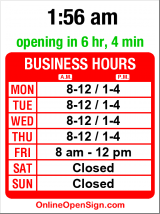 Business hours for St Benedict Catholic Church