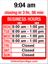 Business hours for Mexican Consulate