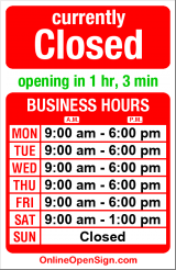 Business hours for Jade Lam Allstate/Insurance Icon
