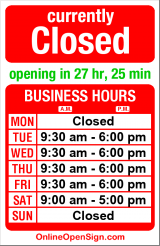 Business hours for Rainier Pharmacy