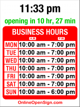Business hours for Saver Furniture