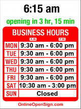 Business hours for Columbia City Parcel & Post
