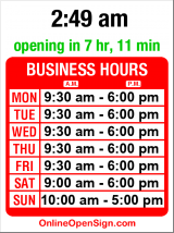 Business hours for Magnolia Garden Center
