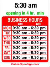 Business hours for Pacific Herb & Grocery
