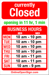 Business hours for Elliott Bay Book Co