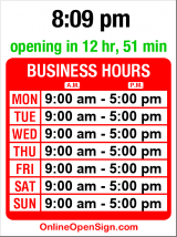 Business hours for Klondike Gold Rush Nat'l Park