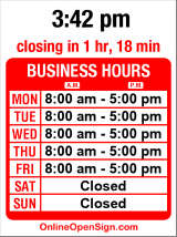 Business hours for Seattle Soapworks