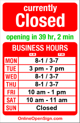Business hours for Lake Union Wellness