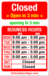 Business hours for Dawson Clinton & Seney