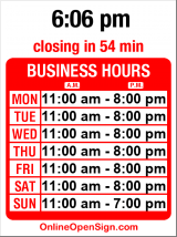 Business hours for Aprie