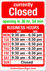 Business hours for Secord Agency Insurance