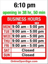 Business hours for Greenwood Post Office