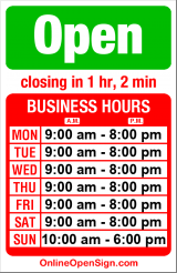 Business hours for Pharmaca Integrative Pharmacy