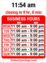 Business hours for Pho Than Brothers