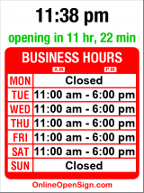 Business hours for Martin-Zambito Fine Art (MOVED)