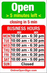 Business hours for Capitol Hill Mail & Parcel